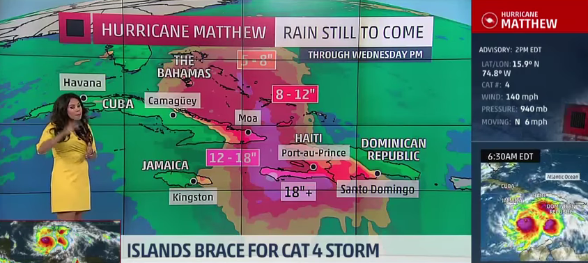 WATCH: Meteorologist Blames Haiti's Deforestation On Children Who 'Eat The Trees'