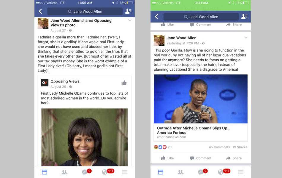 North Forsyth educator posts racist Facebook comments about Michelle Obama
