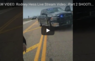 Rodney James Hess shot and killed by police while streaming on Facebook Live