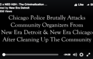 [Video] Police Attack Chicago Community Members for Black Unity